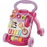 Delightful Vtech Baby Erste Schritte Walker–Pink–Cleva Edition ChildSAFE Door Stopz Bundle