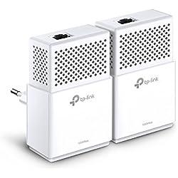 TP-Link TL-PA7010 KIT CPL 1000 Mbps, 1 port Ethernet Gigabit, Pack de 2 CPL - Solution idéale pour profiter du service Multi-TV à la maison