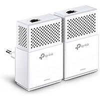 TP-Link CPL 1000 Mbps avec 1 Port Ethernet Gigabit, Kit de 2 - Solution idéale pour profiter du service Multi-TV à la maison (TL-PA7010 KIT)