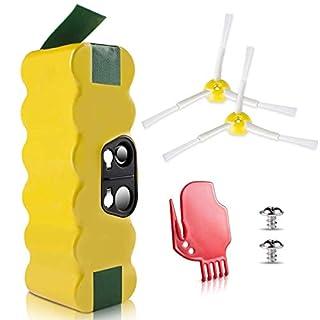 Morpilot iRobot Roomba Akku, NI-MH 3800mAh iRobot Ersatzbatterie für iRobot Roomba StaubSauger Serie 500 600 700 800 900