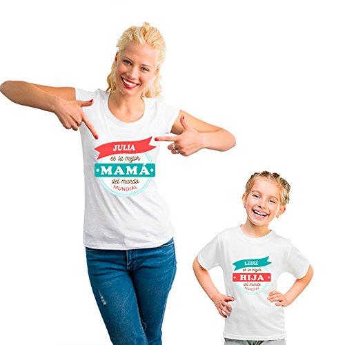 Regalo Personalizado para Madres: Pack de Camiseta para Mamá + Camise