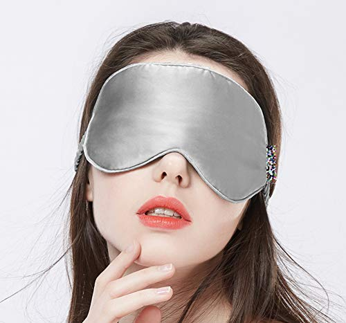 Natürliche Seide Augenmaske Schlaf Schattierung atmungsaktiv weiblich süß, heiße Kompresse entlasten Ermüdung der Augen Männer Augenschutz