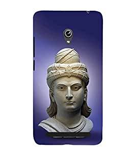 PrintVisa Mahan Ashok Samrat 3D Hard Polycarbonate Designer Back Case Cover for Asus Zenfone 6 A600CG