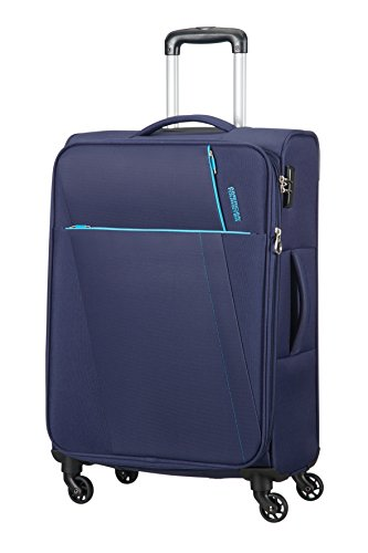AMERICAN TOURISTER Joyride - Spinner 69/25 Expandable Equipaje de mano, 69 cm, 67 liters, Azul (Nordic Blue)