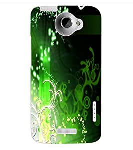 ColourCraft Beautiful Design Back Case Cover for HTC ONE X