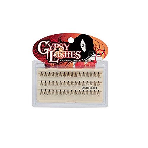 GYPSY LASHES False Eyelashes Flares - Short Black