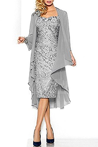 CoCogirls - Robe - Chemise - Femme silver