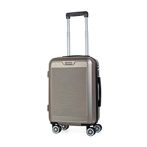 ITACA - T72050 Maleta trolley 50 cm cabina ABS. Equipaje de mano. Ríg