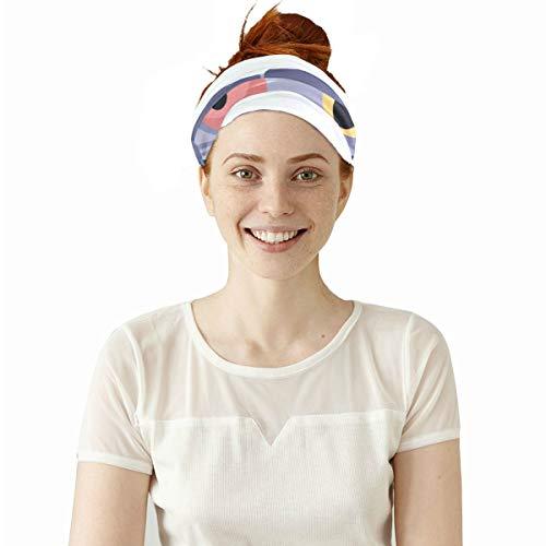 Scary Monster Zombie Cartoon Teufel elastische Stirnbänder Kopf wickeln Schal Sport Schweißband Gesichtsmaske Magie Schal Haarschmuck Bands Krawatten Für Frauen Männer Mädchen Laufen Fitness ()
