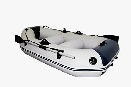 Schlauchboot Prowake IBP230: 230 cm lang mit Lattenboden - ideal für 2 Personen - blau/weiß