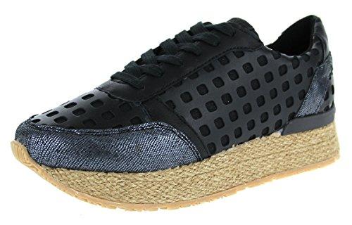 Mundart117-pat-x01b - Zapatillas Mujer , color negro, talla 40