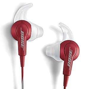 Bose® SoundTrue® In-Ear Kopfhörer (mit Mikrofon und Fernbedienung, inkl. Tragetasche, 2x 3,5 mm Klinke, 167,6 cm) cranberry