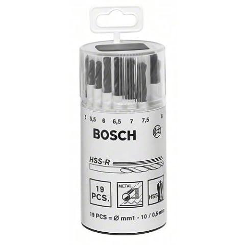 Bosch 2607018355 Metal Drill Bit Set (19-Piece)