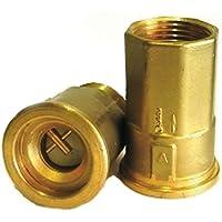 COSMO Spezial-Entl/üftungsstopfen G 1//2 f.T6 Heizk/örper Messing vernickelt