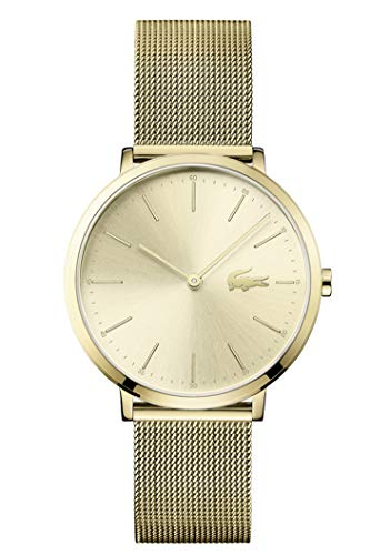 Lacoste Womens Analogue Classic Quartz Watch with Stainless Steel Strap 2001000