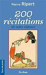 200 Recitations de Votre Enfance