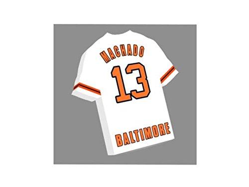 Baltimore Orioles-magnet (Major League Baseball–MLB JERSEY Kühlschrank Magnete–Sie den Namen, Anzahl und Team Farben, kostenlose Personalisierung. Baltimore Orioles Baseball Fridge Magnet)