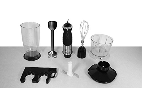 Palson Rocket–Arm Blender 1000W, Stainless Steel, Speed Adjustable) Black and Silver