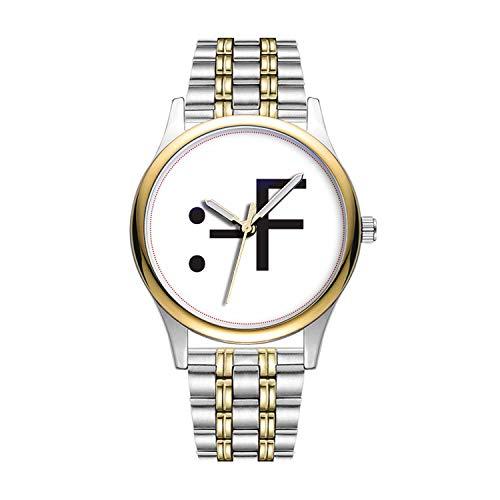 Personalisierte Minimalistische Buck Tooth 2.ai Uhren Goldene Fashion wasserdichte Sportuhr -