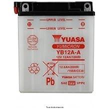 Yuasa - Batterie Yuasa YB12A-A HONDA CM 400 TC 1982-1983