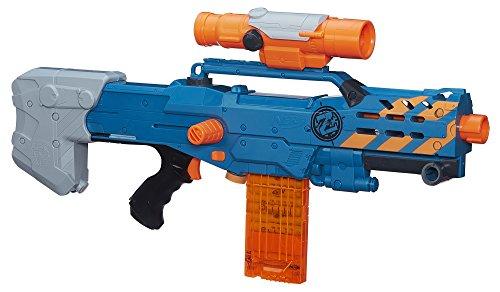 Longshot Nerf N Strike (Nerf-Langschuss-Blaster, Zombie Strike Zed Squad CS-12)