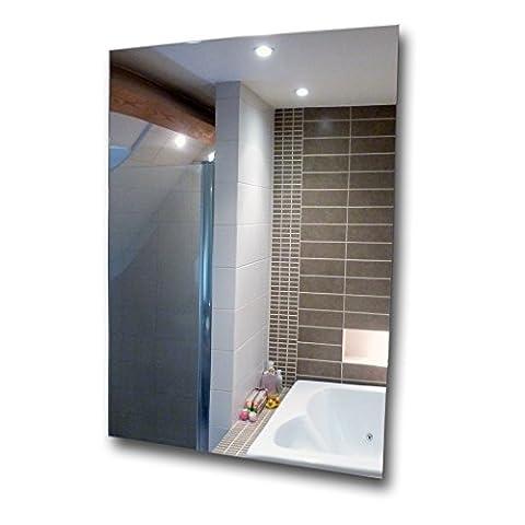 Miroir acrylique A4feuilles anti-éclats, dalle en plexiglas