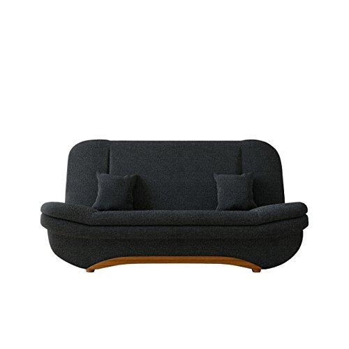 Mirjan24  Sofa Weronika Lux Sale mit Bettkasten und Schlaffunktion, Schlafsofa, Große Farb- und Materialauswahl, Couch vom Hersteller, Wohnlandschaft (Boss 14) (Boss Sofa Modernes)