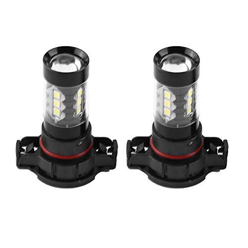 EBTOOLS Fari antinebbia 12V-24V 80W per auto H16 Fari fendinebbia Lampadine LED per auto