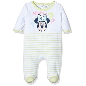 Disney-Minnie-Mouse-HO0377-Pelele-para-Dormir-para-Bebs-Verde-13-0319TC-9-12-Tamao-Fabricante12-Meses
