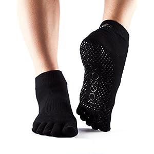 ToeSox Zehensocken, knöchellang, für Yoga
