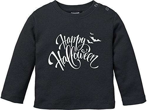 EZYshirt® Happy Halloween Baby T-Shirt Longsleeve