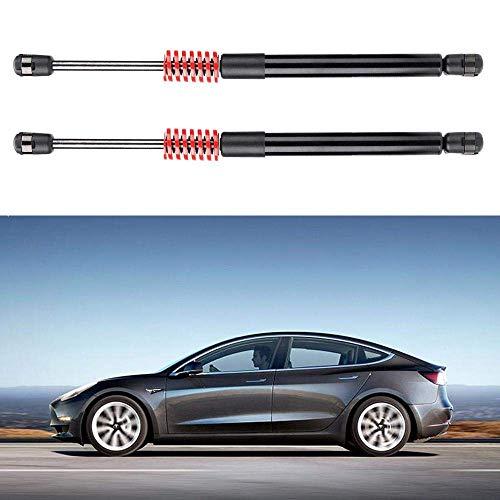 EEIEER Gasdruckdämpfer für Tesla Model 3 Zubehör, Automatischer Kofferraumlift Unterstützt Hintere Kofferraumstreben mit Feder und Edelstahlunterlegscheibe, Gasdruckfeder/Gasfeder/Gasfedern