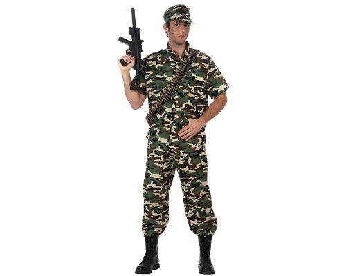 ATOSA 10590–Kostüm– Soldatenkostüm –Erwachsene–Größe 2