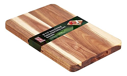 Cook N Home Schneidebrett, Hartholz, Holz (Totally Bamboo Schneidebrett)
