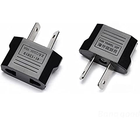 philmat aus to US AUS to Canada AC adapter splayed plug
