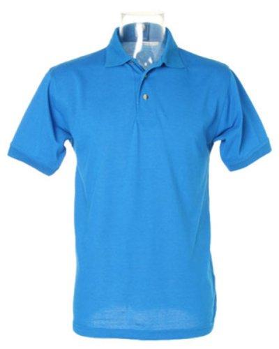 Kustom Kit Workwear Pique Polo Weiß