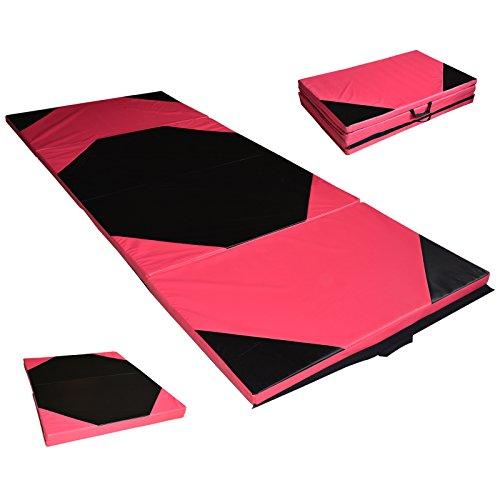 Turnmatte Weichbodenmatte Bodenmatte Trainingsmatte Gymnastikmatte Schutzmatte 4-fach klappbar 240x120x7cm