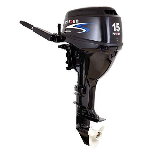 Parsun Aussenborder Benzinmotor 2,6-40 PS | Leistungsstarker 4-Takt Außenborder Bootsmotor |Einspritzer Außenbordmotor für garantierten Fahrspaß in diversen PS Ausführungen (15 PS, Langschaft)