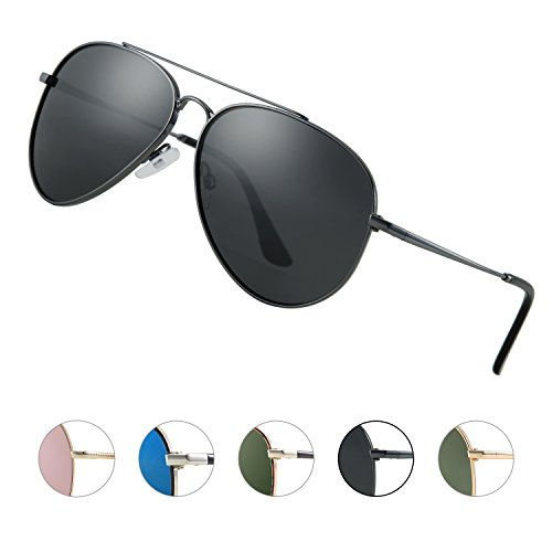 Elegear Aviator Sonnenbrille Herren polarisiert Pilotenbrille, Stylischen, Neuen Look YF08...