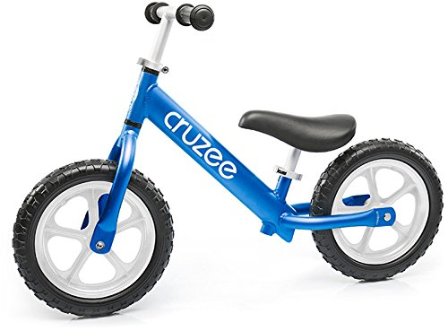 Cruzee Balance Bike (4.4 lbs) für Kinder ab 1,5 bis 5 Jahre (blau) (Flyer-rosa Radio)