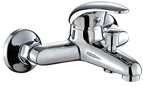 DP Grifería Naranjo – Grifo de bañera, color plateado