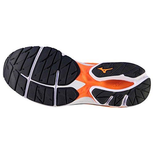 Mizuno Herren Wave Rider 20 Laufschuhe Running Turnschuhe Sportschuhe Sneaker Orange/Black