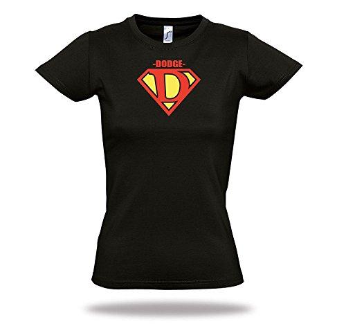 dodge-tuningtreff-damen-shirt-superman-letters-abc-funshirt-blue-black