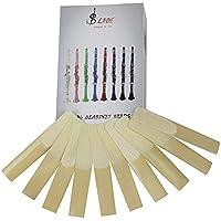 Clarinete Reeds Muslady High Grade Bb Clarinete Reeds Strength 2.5, 10 piezas/Caja