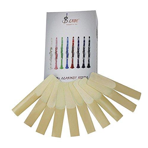 Muslady Alta Qualità Ance per Clarinetto Bb Forza 2.5 10 pz/scatola
