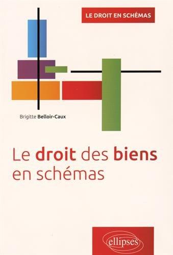 Le Droit des Biens en Schémas par Brigitte Belloir-Caux