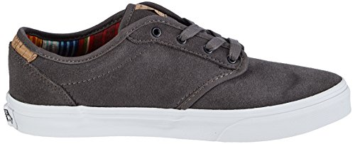 VansY ATWOOD DELUXE SUEDE - Sneaker Unisex - bambino Grigio (Grau ((Suede) pewter/blanket))