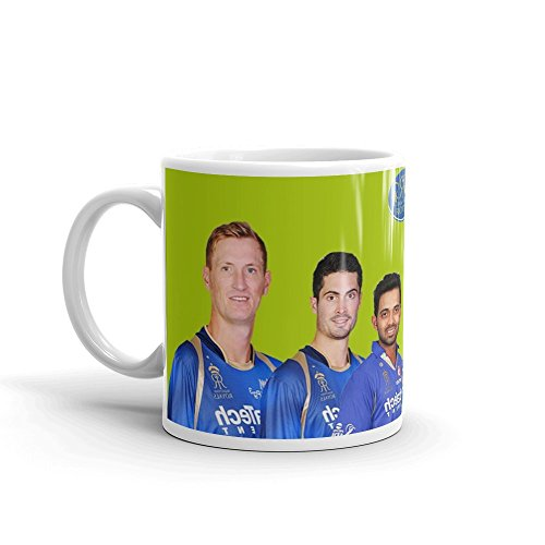 Grabdeal Rajasthan Royals Mugs For Cricket Lover– Most selling Indian Premier League Mugs