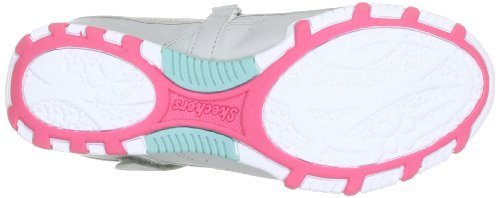 Skechers Bikers Pretty Party 82830L Mädchen Mary Jane Halbschuhe Grau (GYCL)