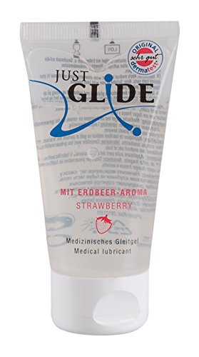 Just Glide Lubrifiant Fraise 50 ml